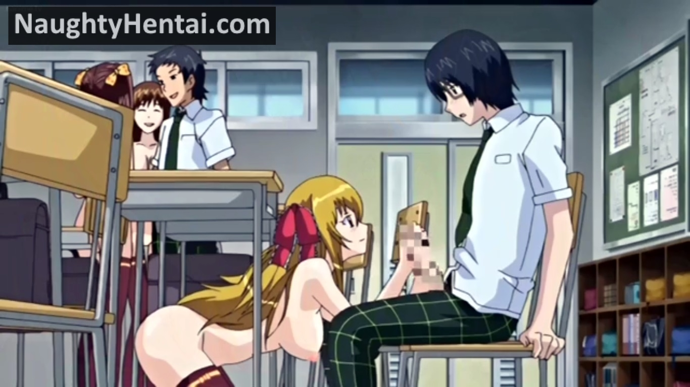 Anime Xray Cum Porn Gif the slave rabbit and anthony | naughty hentai anime